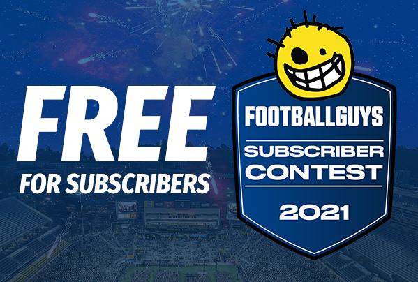 Footballguys Subscriber Contests